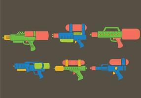 Wassergewehr Vektor