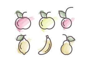 Vektor Frukt Illustration