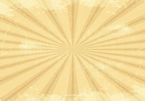 Retro Grunge Sunburst Hintergrund vektor