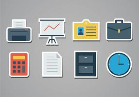 Free Office Aufkleber Icons