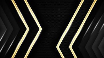 abstrakter Metallhintergrund mit Gold und funkelnden Linien