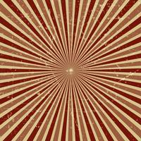 vintage grunge starburst