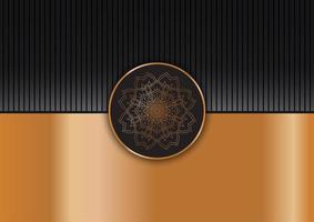 dekorativ elegant mandala