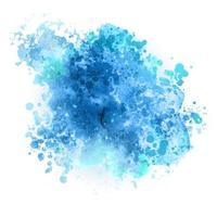 detaillierte Aquarell gemalte Textur vektor