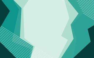 Hintergrunddesign mit abstrakten Mustern in Grün