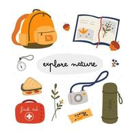 utforska natursamlingen