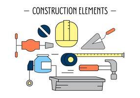 Gratis byggnadselement vektor