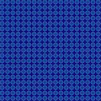 blå mönster cirklar