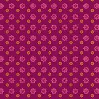 rosa Blumenmuster vektor