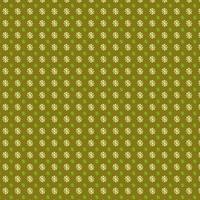 lime blommig cirkel mönster design