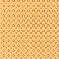 orange mönster design