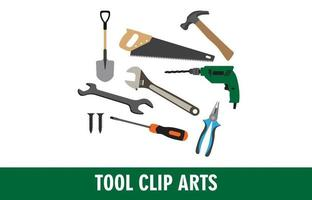 Werkzeugelementsatz vektor