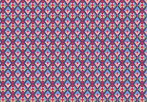 Lila geometriska mönstret