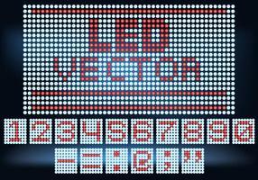 Led Bildschirm Vektor