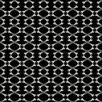 nahtloses Schwarz-Weiß-Muster mit Schraubenschlüssel