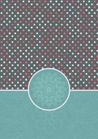dekorativer Tupfenhintergrund vektor
