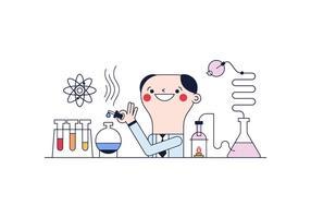 Freier wissenschaftlicher Vektor