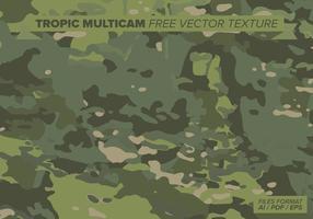 Tropische multicam freie vektorbeschaffenheit vektor