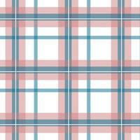 rosa, blauer, weißer karierter Hintergrund vektor