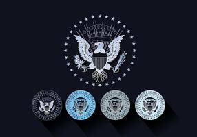 Presidentens förseglingsvektor