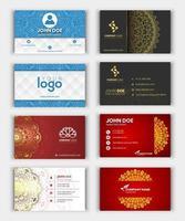 modern visitkortsamling vektor