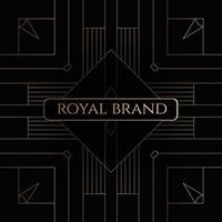 geometrischer Luxus Premium Hintergrund
