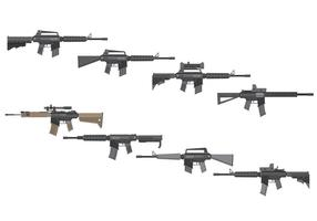 Free Assault Rifles Vektor