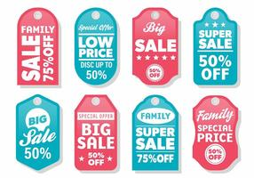 Free Modern Label Sale Vektor