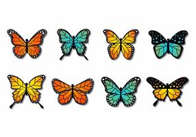 Gratis Colorfull Butterfly Vector