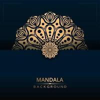 Luxus Zier Mandala Hintergrund