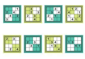Sudoku-Vektor vektor