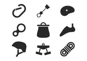 Klettern Icons vektor