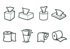Freie Tissue-Papier-Vektoren vektor