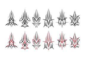 Nadelstreifen Design vektor
