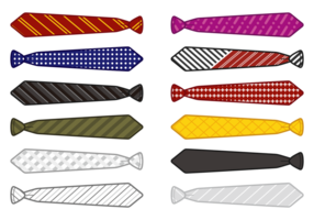 Cravat Vector ikoner