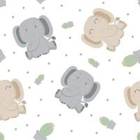 Elefanten und Kakteen