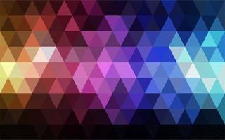 mörk triangelbakgrund