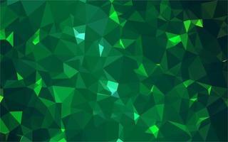 grüner polygonaler Hintergrund