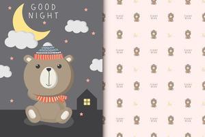 Gute Nacht Teddybär
