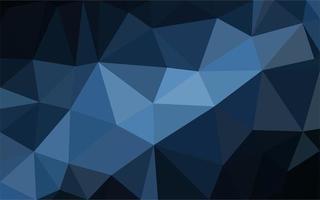 blauer polygonaler Hintergrund