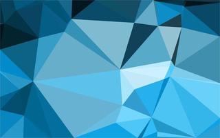 ljusblå triangelmönster