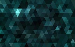 dunkelgrünes Mosaik