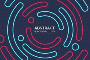 modern abstrakt färgglad cirkelbakgrund