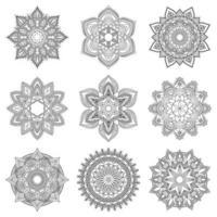 indisches Mandala-Design vektor