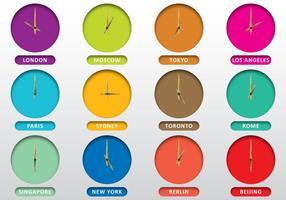 Uhren der Städte