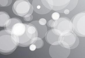 grauer Bokeh-Hintergrund vektor