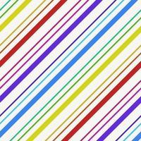 sömlös färgglada diagonala ränder mönster vektor