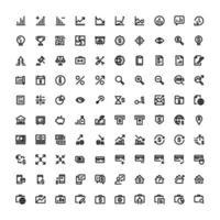uppsättning redigerbara ikoner för e-handel i linjestil
