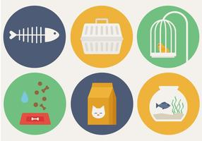 Freie Haustier-Elemente Vektor
