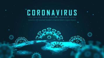 virus global pandemi utbrott design vektor